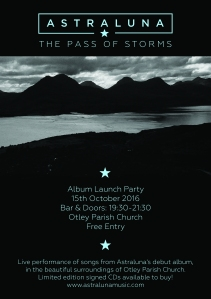 Album launch poster cmyk